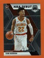 2019-20 Panini Mosaic Cam Reddish NBA Debut RC #271 Atlanta Hawks