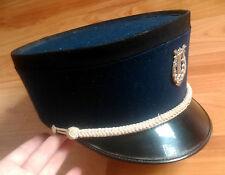 original vintage Swiss army military kepi hat uniform lire music emblem fanfare