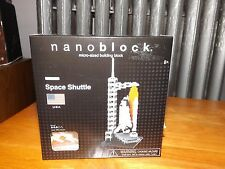 NANOBLOCK MICRO SIZED BUILDING, SPACE SHUTTLE, NBH-014, NEW IN BOX