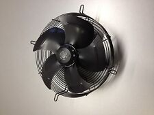 240V AXIAL FAN MOTOR ASSEMBLY 450mm dia fan blade - SUCKER draws air over motor