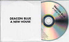 DEACON BLUE A New House 2014 UK 1-trk promo test CD title sleeve