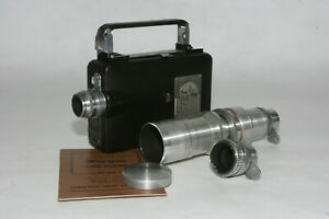 Magazin Cine Kodak 16mm mit Kodak Anastigmat 1,9/25mm, 2,7/15mm, 2,7/102mm