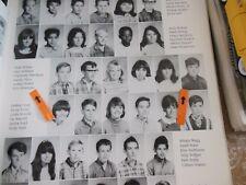 KIM BOKAMPER/FOOTBALL/1968 RUSSELL JUNIOR HIGH SCHOOL YEARBOOK/MILPITAS, CALIF