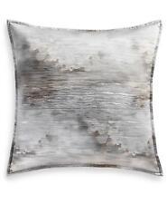 Hotel Collection Iridescence 376 Tc Euro Pillow Sham Metallic Grey $135