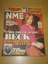 NME 1999 OCT 16 BECK MANIC STREET PREACHERS