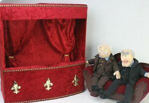 Waldorf und Statler Jim Hensons Muppet Show Theater Plüschfigur Handmade Replica