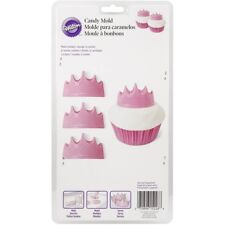 Wilton Princess CROWN Candy Chocolate Mould Childrens Birthday Party Decoration