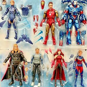 Marvel Legends MCU Scarlet Witch Infinity Saga What If Captain Carter Thor UPICK