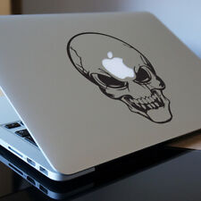 """SKULL Apple MacBook Decal Sticker fits 11"""" 12"""" 13"""" 15"""" and 17"""" models"""