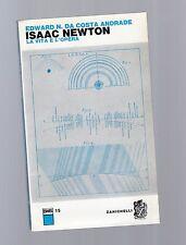 isaac newton - la vita e l opera - edward n.da costa andrade