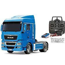 Tamiya 1/14 RC Big Truck No.49 MAN TGX 18.540 4 × 2 XLX BLUE FULL OPERATION KIT