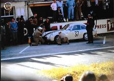 1962 LE MANS 24 HOURS HEURES OSCA O.S.C.A. 1600GT Zagato JOSE BEHRA ARENTS No37