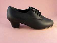 "Capezio West End 2 Cuban 1.5"" Heel with Tele Tone Taps"