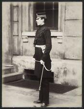 c.1890's PHOTO  - BRITISH ARMY UNIFORM OFFICER 1st SCOTS GUARDS