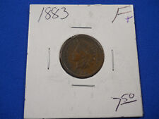 1883 P INDIAN CENT F/VF PENNY