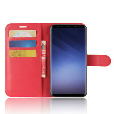 Samsung Wallet Flip Cover Leather Phone Case Kickstand Card Pocket Stand display