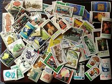 BULGARIA 1980/90's, 150 DIFFERENT STAMPS, CANCELLED WITH GUM, CTO, FREE SHIPPING
