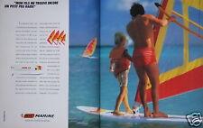 PUBLICITÉ 1985 STYLO BIC MARINE PASSEZ DES VACANCES PLUS GRANDES - ADVERTISING