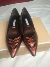 Hollywould Fiona Flat Womans Shoe Size 38.5/8.5  Retail $346