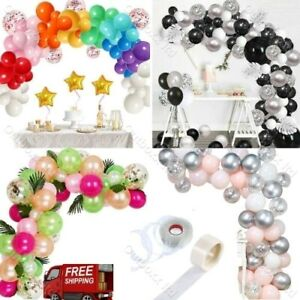 Baloons Arch Kit+Pearl Balloons Garland Birthday Wedding Baby Shower Party Decor