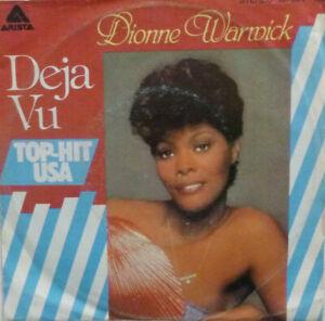 """7"""" 1977 RARE IN MINT- !  DIONNE WARWICK : Deja Vu"""