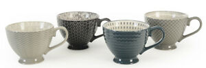 Signature Housewares Footed Mugs, Choose Your Color (05055)