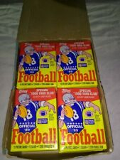 1989 Topps Wax Box NFL With (2) Traded Sets