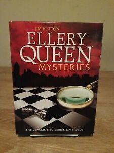Ellery Queen Mysteries DVD Beautiful NBC TV Series Set
