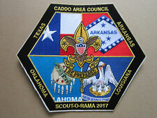 Caddo Area Council Scout O Rama BSA Woven Cloth Patch Badge Boy Scouts Scouting