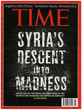 news magazine TIME May 27, 2013 SYRIA'S DESCENT INTO MADNESS