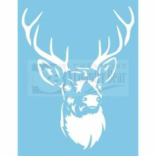 Stencil - Deer - Antler  -   ST-066