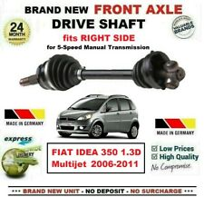 FOR FIAT IDEA 350 1.3D Multijet 2006-2011 BRAND NEW FRONT AXLE RIGHT DRIVESHAFT