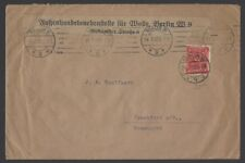 Germany Inflation 1921-3 collection of cards & covers (18)