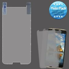 For T-Mobile Revvl Twin Pack 2X LCD Screen Protector with Cleaning Cloth