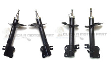 FOR NISSAN X-TRAIL 01-07 FRONT + REAR SUSPENSION 2 SHOCK ABSORBERS SHOCKERS