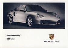Porsche 996/911 Turbo Mode D 'em Ploi , Manuel D'Instructions, Modèle Année 2003
