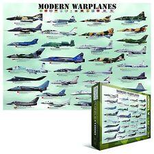 Modern Warplanes 1000 piece jigsaw puzzle 680mm x 490mm (pz)