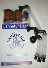 Bannatyne Canister System for Bagpipes Moisture Control