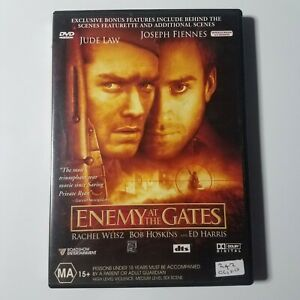 Enemy At The Gates | DVD Movie | Jude Law, Rachel Weisz| War/Action | 2001