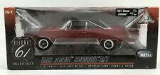 *SEE PHOTOS* HIGHWAY 61 COLLECTIBLES 1967 DODGE CORONET R/T 1:18 SCALE 50745 RED