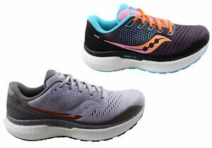 Saucony Womens Triumph 18 Comfortable Athletic Running Shoes - Mesh