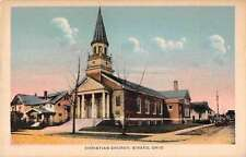 Girard Ohio Christian Church Antique Postcard J49824