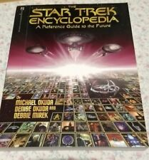 Star Trek Encyclopedia A Reference Guide to the Future Paperback Book
