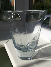 Vintage Swedish Stromberg 'fish' art glass vase design No B996