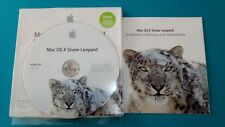 MAC OS X  Snow LEOPARD 10.6.3 - DVD ORIGINALE retail