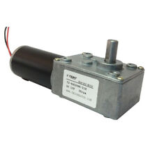 12V 35RPM Small High Torque Reversible PMDC Worm Gear Tooth Box Motor Replace