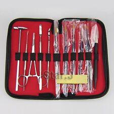 13pcs Dental Porcelain Ermine Brush Pen Set Dental Carver Hand Tool