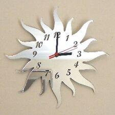 Sun Clock - Acrylic Mirror (Several Sizes Available)