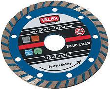 Disco da taglio per smerigliatrice diamantato Valex 115 mm