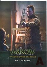Arrow Season 2 Red Foil Parallel Base Card #47 Put It on My Tab